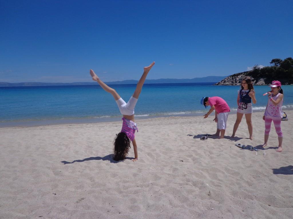Δραστηριότητες στην άμμο