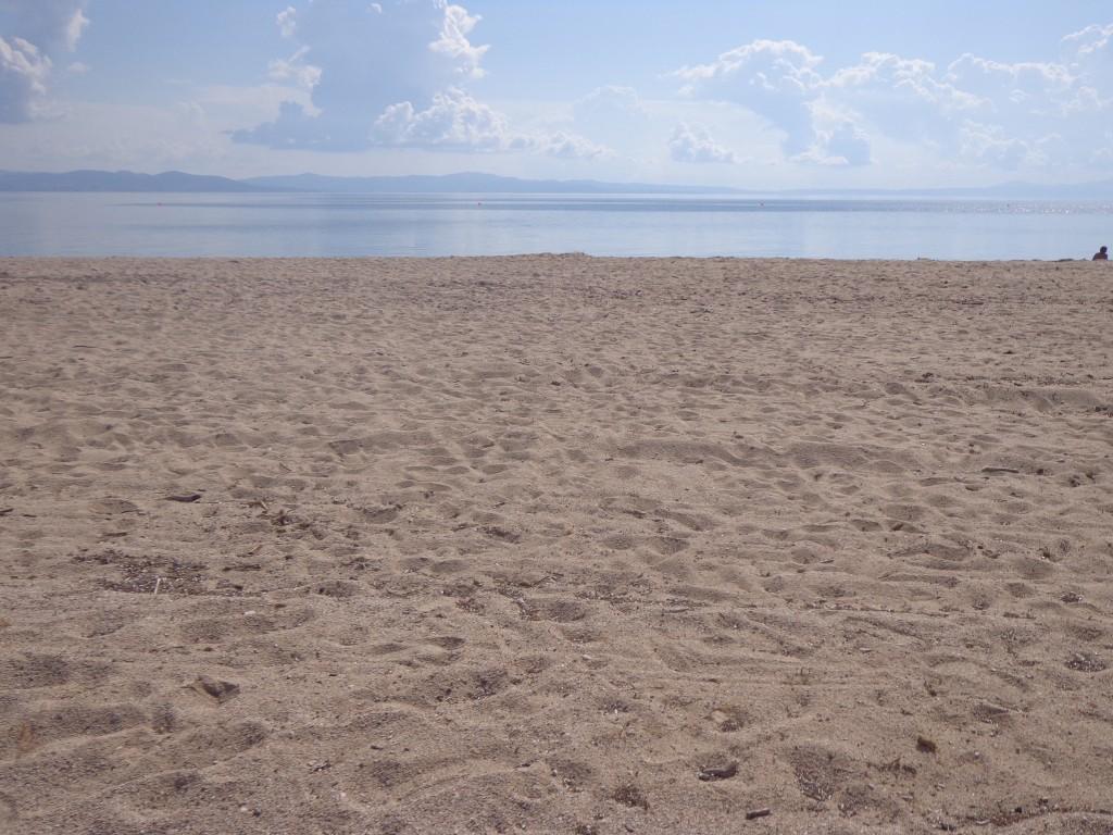 Πεντακάθαρη παραλία ... Μπράβο σε όλους !!!