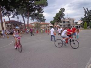 Δραστηριότητες με ποδήλατα και ρόλερ