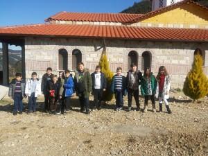 Επίσκεψη στη Μονή με το Σϋλλογο Γονέων και κηδεμόνων του σχολείου μας