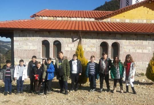 Επίσκεψη στην Ιερά Μονή Μεταμορφώσεως του Σωτήρα -Βέροια