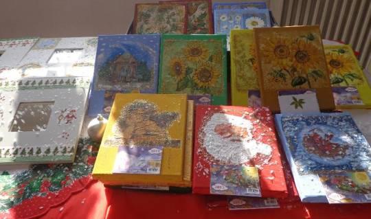 Χριστουγεννιάτικο Bajaar -κατασκευές μαθητών/τριών στα Εικαστικά