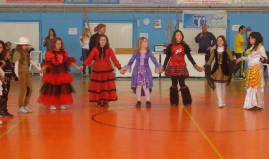 Συνάντηση χορευτικών τμημάτων Σχολείων Δήμου Ν Προποντίδας