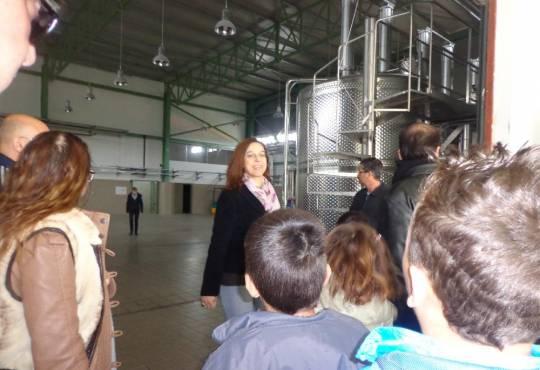 Επίσκεψη στο ΚΠΕ Αρναίας-Ξενάγηση στο Οινοποιείο